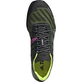 adidas TERREX Speed Pro SG Trail Running Shoes Men, core black/feather white/solar yellow